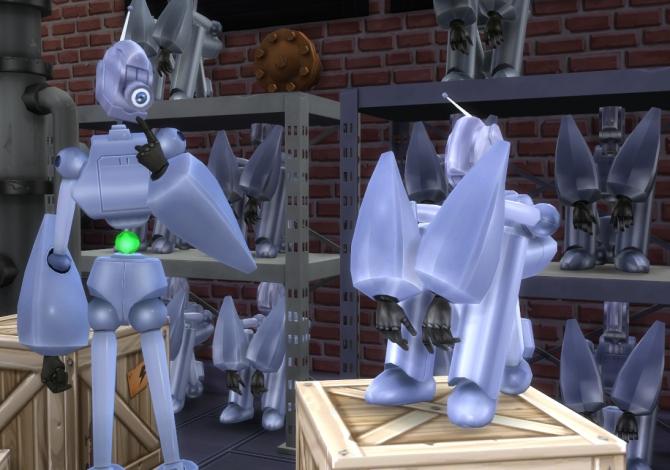 Robot 187 Sims 4 Updates 187 Best Ts4 Cc Downloads