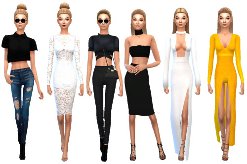 KENDALL JENNER AND GIGI HADID at TS4 Celebrities Corner image 1627 Sims 4 Updates