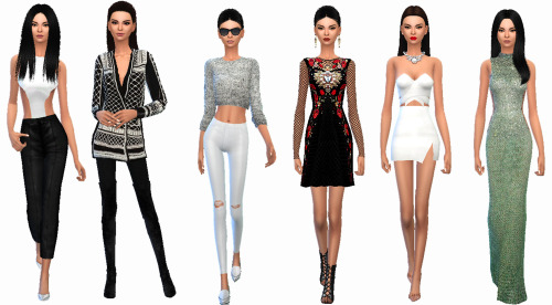 KENDALL JENNER AND GIGI HADID at TS4 Celebrities Corner image 1634 Sims 4 Updates