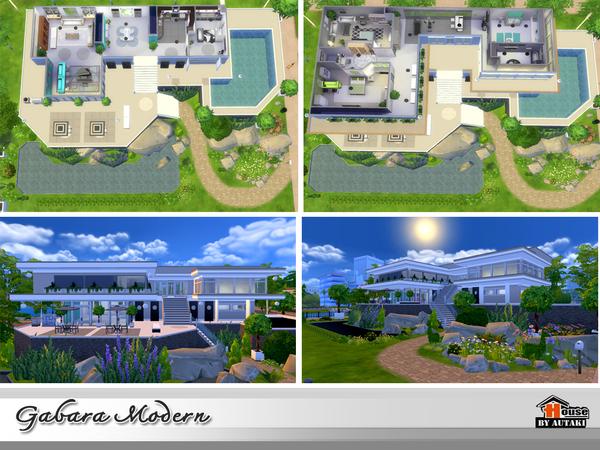 Gabara Modern house by autaki at TSR image 1658 Sims 4 Updates
