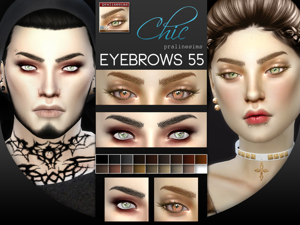 5 Eyebrows Minipack 6.0 by Pralinesims at TSR image 167 Sims 4 Updates