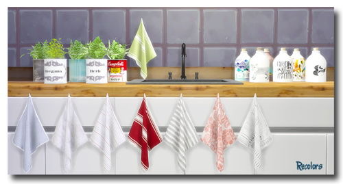 Sims 4 Kitchen Deco at Msteaqueen
