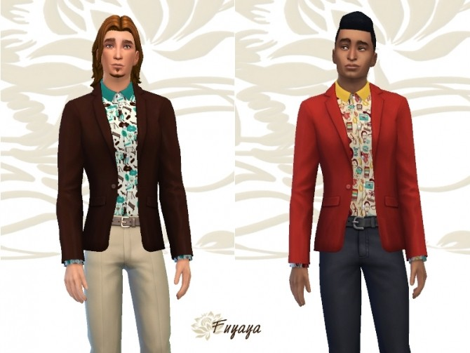 Paraisy vest by Fuyaya at Sims Artists image 1685 670x503 Sims 4 Updates