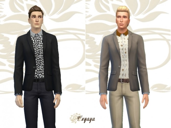 Paraisy vest by Fuyaya at Sims Artists image 1694 670x503 Sims 4 Updates