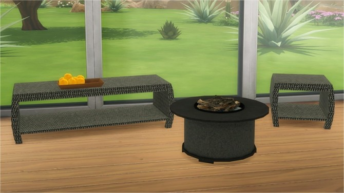 Sims 4 Delano Outdoor at Veranka