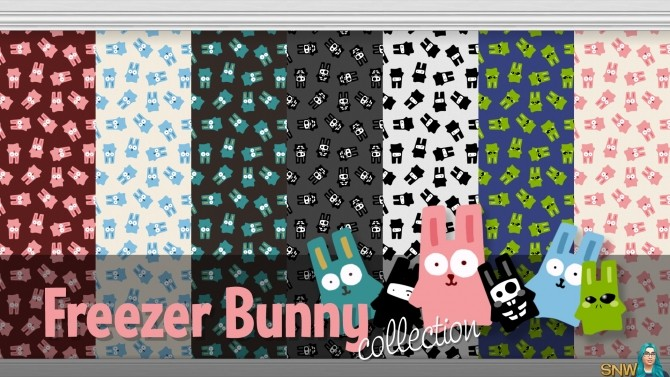 Sims 4 Freezer Bunny Wallpapers Collection at Sims Network – SNW