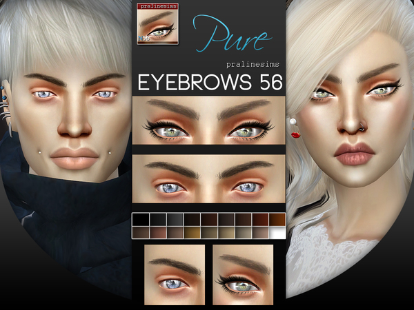 5 Eyebrows Minipack 6.0 by Pralinesims at TSR image 176 Sims 4 Updates