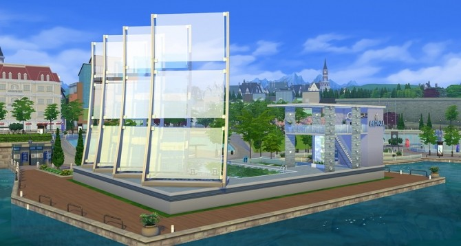 Sims 4 Neptune Pool at ihelensims