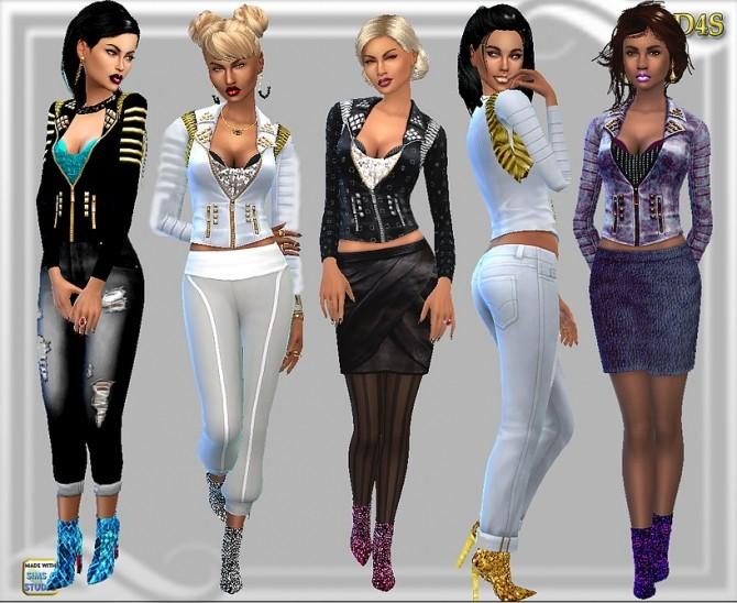 Sims 4 Fav jacket at Dreaming 4 Sims