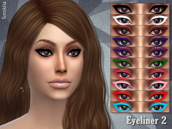 Sims 4 Eyeliner 2 by Sintiklia at TSR