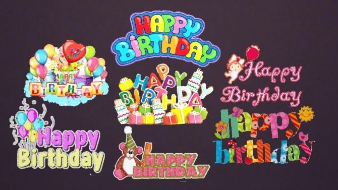 Birthday Decals Set at Sanjana sims image 1964 670x377 Sims 4 Updates
