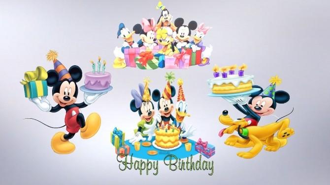 Birthday Decals Set at Sanjana sims image 1984 670x377 Sims 4 Updates