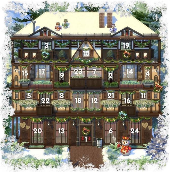 Sims 4 Advent Calendar at Akisima