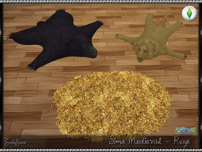 Sims 4 Sims Medieval Rugs at SrslySims