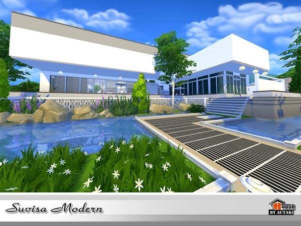 Suvisa Modern house by autaki at TSR image 2119 Sims 4 Updates
