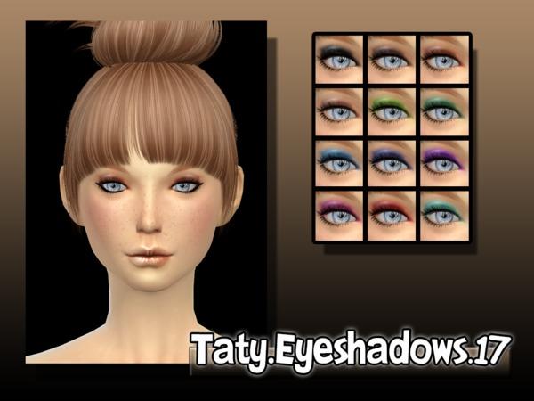 Sims 4 Eyeshadows 17 by Taty at TSR