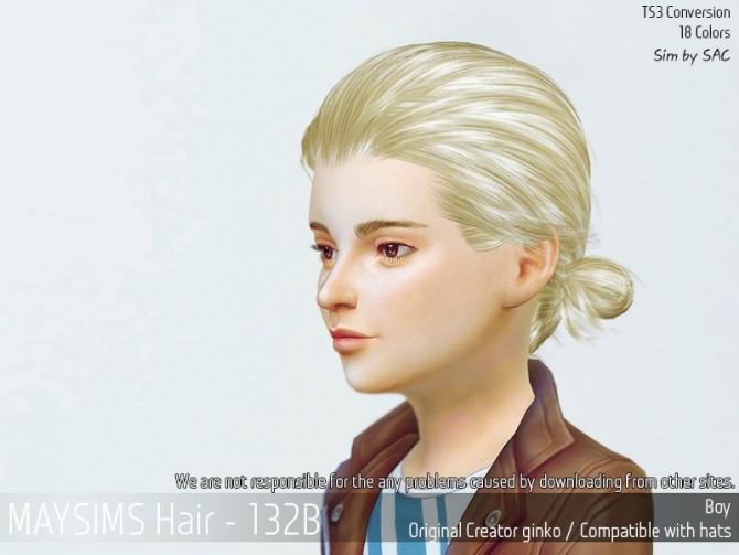 Hair 132B (Ginko) at May Sims image 2136 670x503 Sims 4 Updates