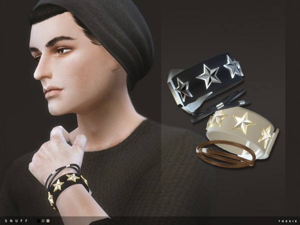 Sims 4 Snuff Wristbands by toksik at TSR