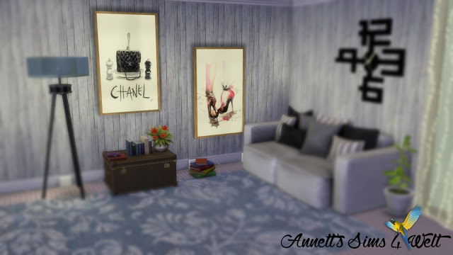 Sims 4 Fashion Paintings at Annett's Sims 4 Welt