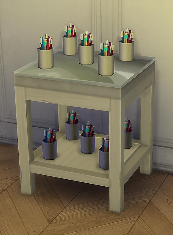 RAW Pedestal Counter at Dri4na image 2185 Sims 4 Updates
