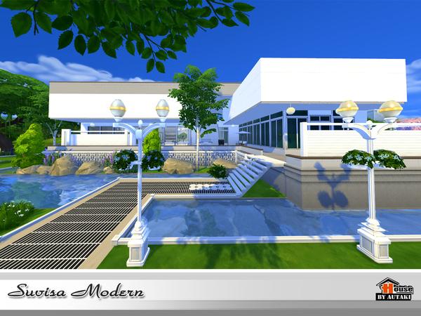 Suvisa Modern house by autaki at TSR image 2216 Sims 4 Updates