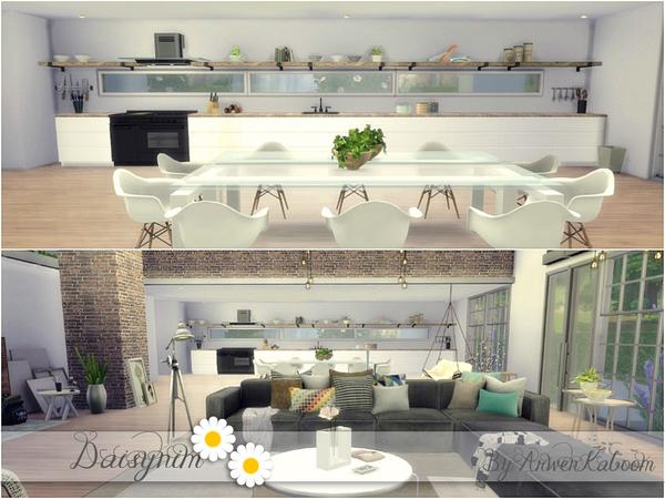 Sims 4 Daisynim house by ArwenKaboom at TSR