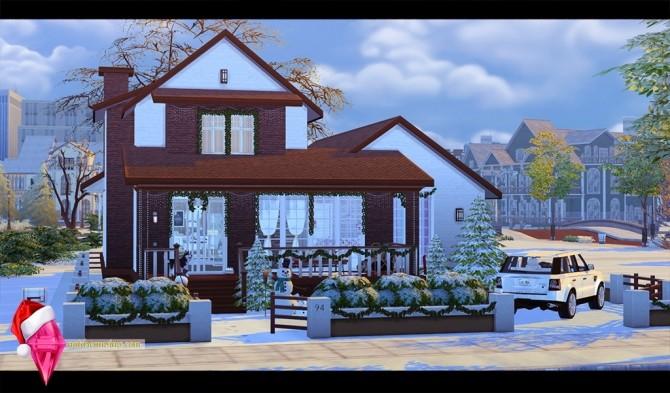Sims 4 Christmas morning house at Nat Dream Sims