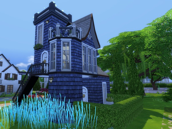 The Blue Tower by Ineliz at TSR image 24 Sims 4 Updates
