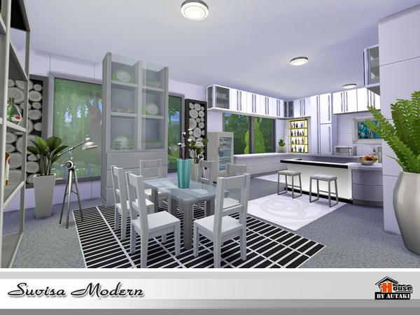 Suvisa Modern house by autaki at TSR image 2414 Sims 4 Updates