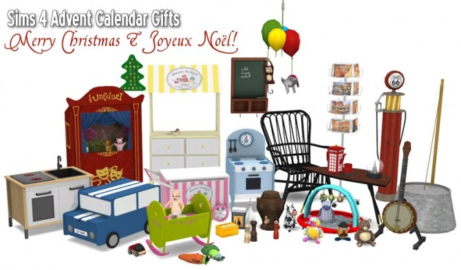 Special 2015 Advent Calendar Gifts At Around The Sims 4