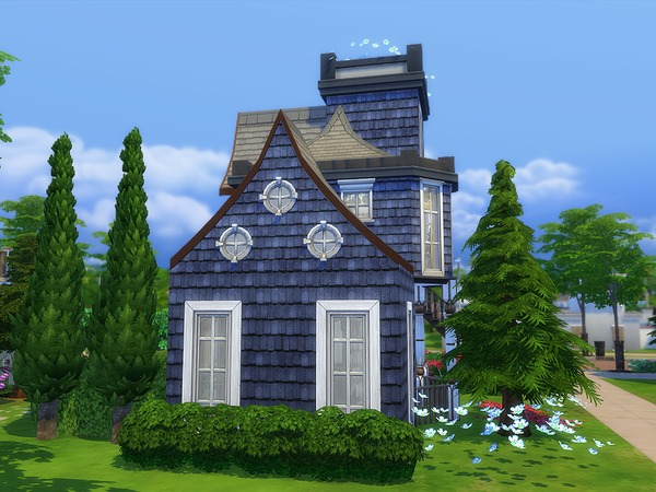 The Blue Tower by Ineliz at TSR image 25 Sims 4 Updates