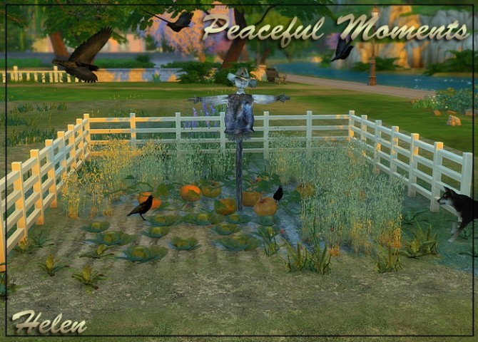 Sims 4 Peaceful Moments at Helen Sims