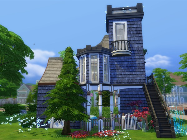 The Blue Tower by Ineliz at TSR image 26 Sims 4 Updates