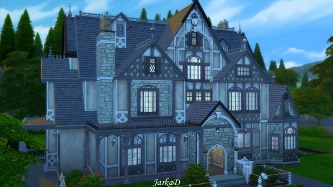 Sims 4 Tudor House No.1 at JarkaD Sims 4 Blog