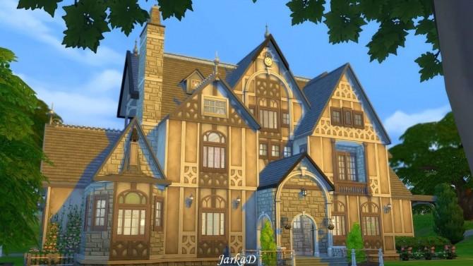 Tudor House No.1 at JarkaD Sims 4 Blog image 2664 670x377 Sims 4 Updates