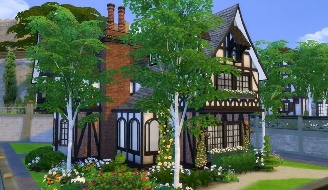Sims 4 The Mason Tudor at Simsational Designs