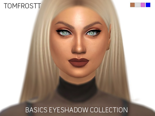 Basics Eyeshadow Collection by tomfrostt at TSR image 2736 Sims 4 Updates