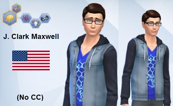J. Clark Maxwell (No CC) by dboyd205 at Mod The Sims image 2826 Sims 4 Updates