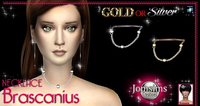 Sims 4 BRASCANIUS necklace at Jomsims Creations