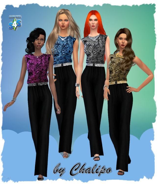 Sims 4 New Year pack at All 4 Sims
