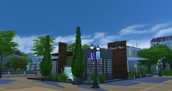 Sims 4 Hodgepodge Cafe by TMBrandon at Mod The Sims
