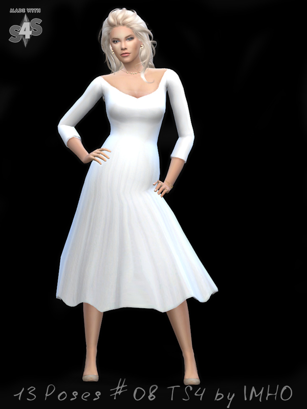 13 Poses #08 at IMHO Sims 4 image  Sims 4 Updates