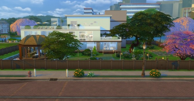 Vue Grande Modern Mansion by Jan Cimmerian at Mod The Sims image 3122 670x352 Sims 4 Updates
