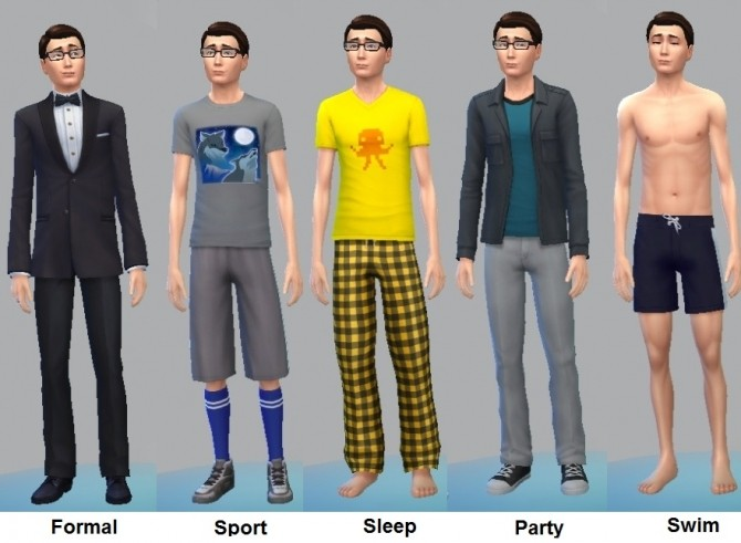 J. Clark Maxwell (No CC) by dboyd205 at Mod The Sims image 3130 670x491 Sims 4 Updates