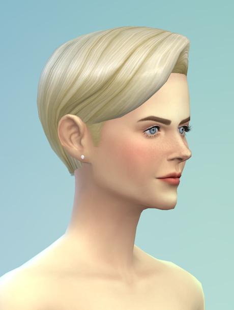 Sims 4 Long wavy classic edit F at Rusty Nail