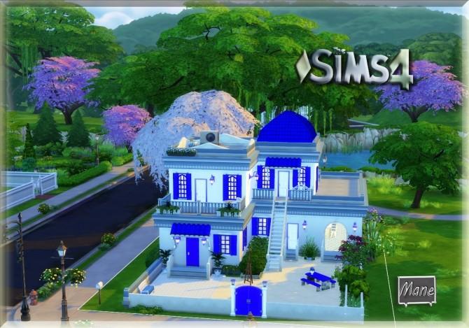 Sims 4 AZUL collection at El Taller de Mane