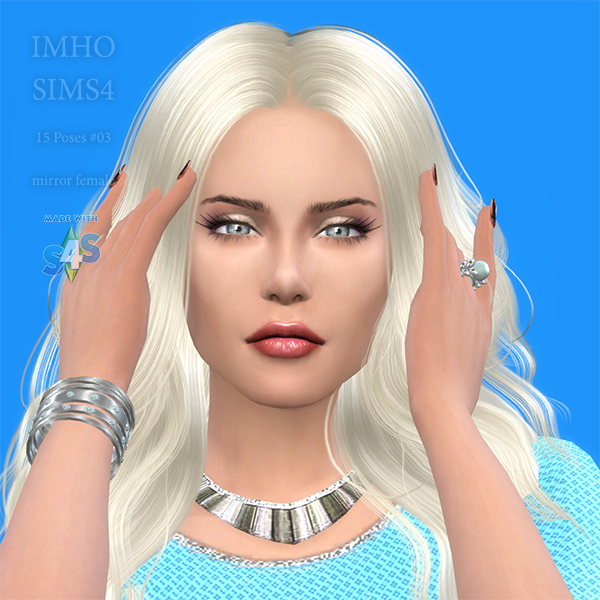 Sims 4 Updated Poses TS4 at IMHO Sims 4