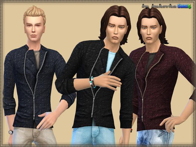Jacket Zipper at Bukovka image 337 Sims 4 Updates
