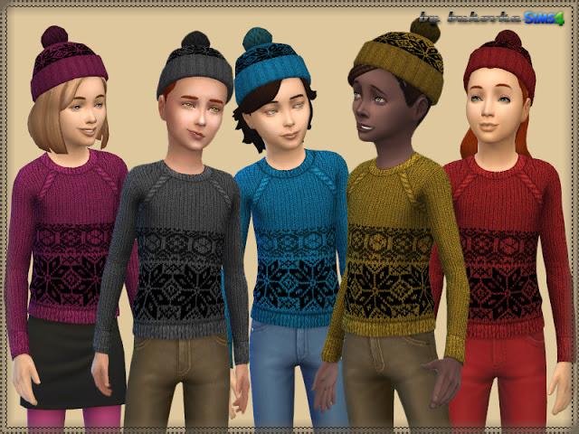Sims 4 Set Snowflake at Bukovka