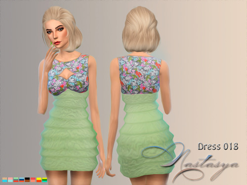 Sims 4 Dress 018 at Nastasya94
